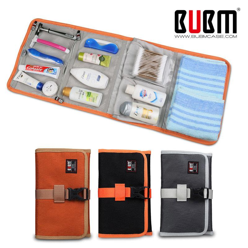 Folded Travel Organizer Toiletries / Electronics