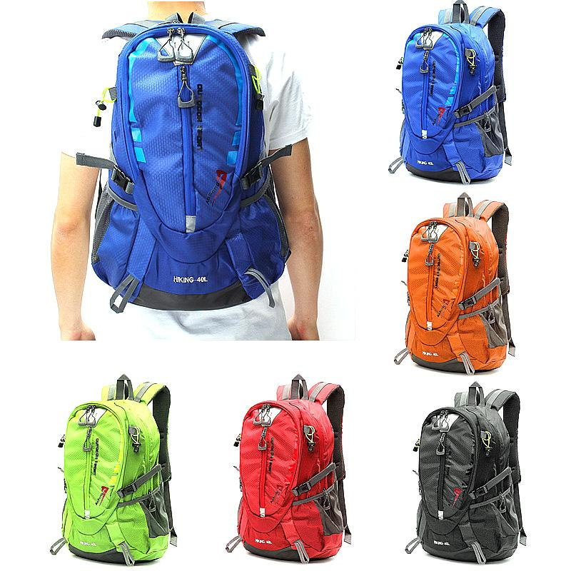 Waterproof Nylon Unisex Hiking Backpack