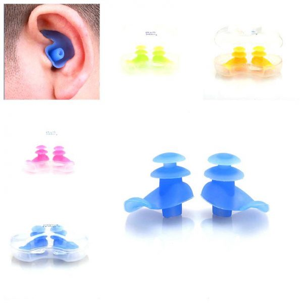 Soft Silicone Ear Plugs for Swimming