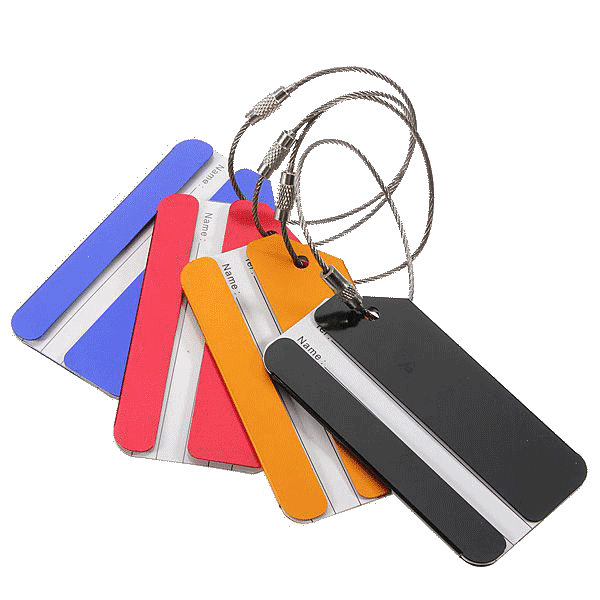 Travel Luggage Name/Address Tags Holder