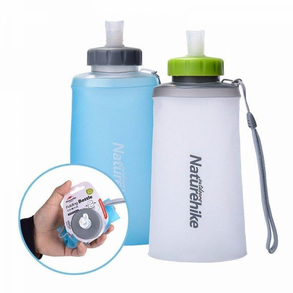 Silicone Folding Sports Water Bottle