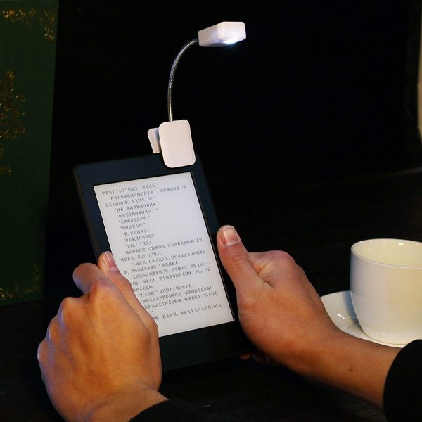 LED Book Light Clip for Kindle E Book / Tablets