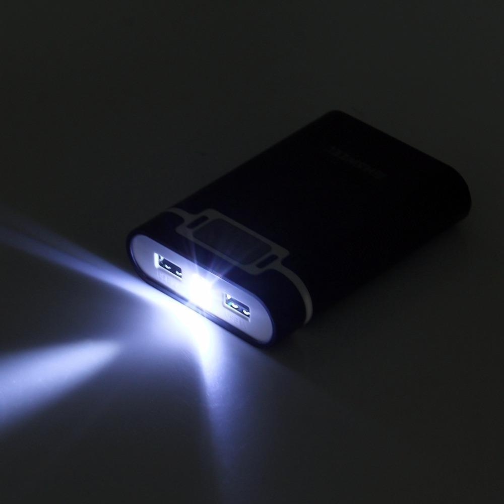 Dual USB Ports LED Display Power Bank