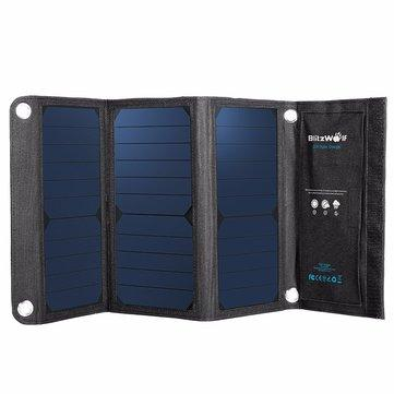20W 3A BW-L1 Foldable USB Solar Charger