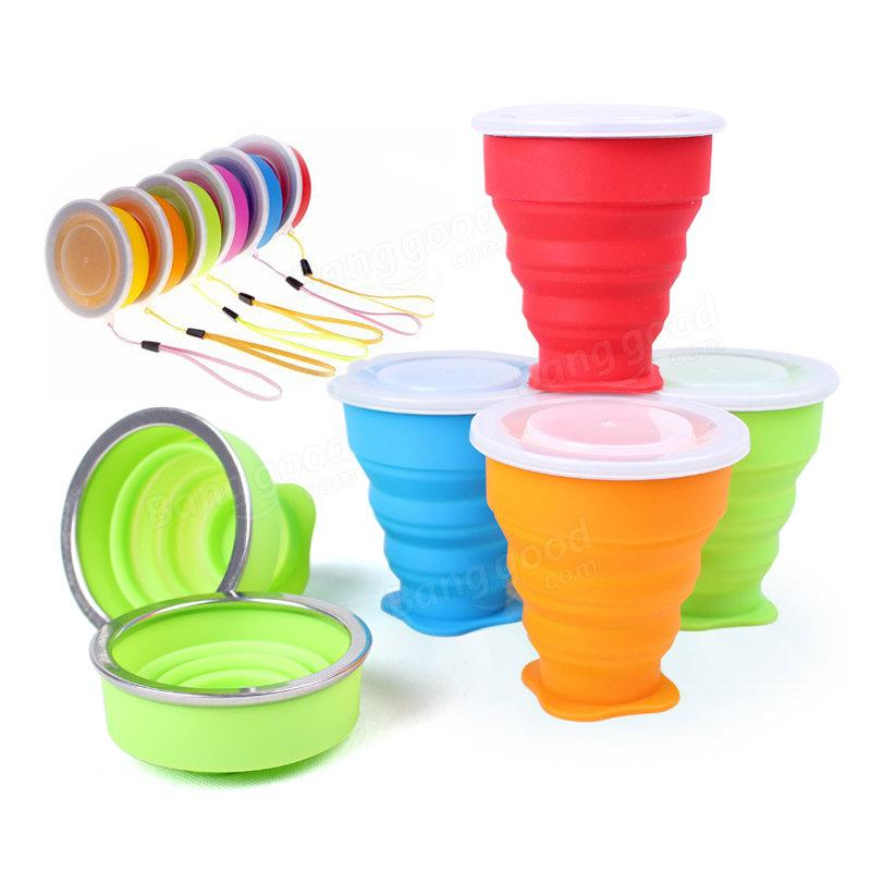Outdoor Travel Silicone Folding Sport Cup