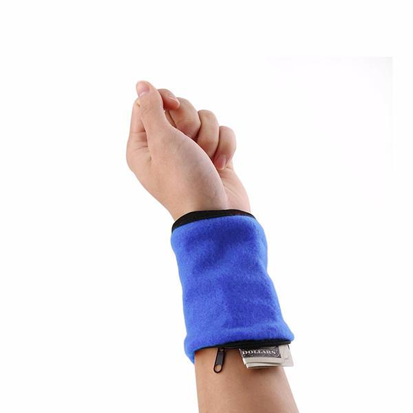 Multifunction Wristband Zipper Organizer