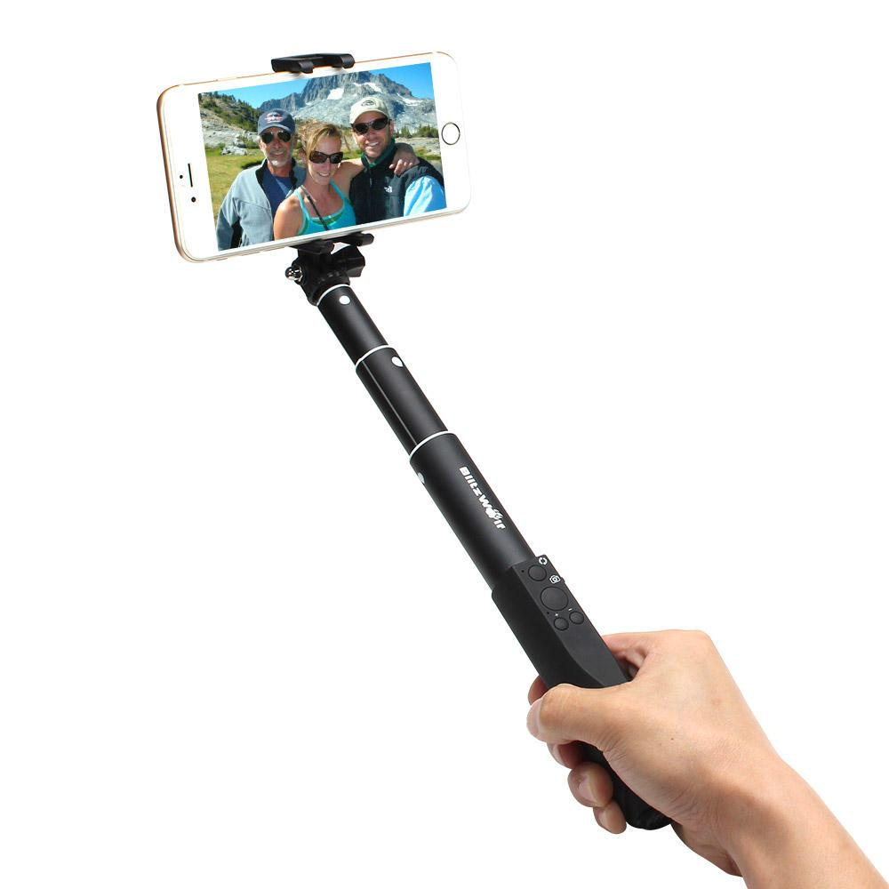 Ultimate 4 Button Bluetooth Extendable Selfie Stick